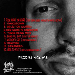 Nick Wiz Project Back